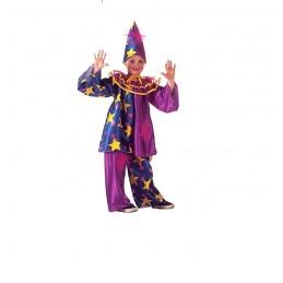 Costum de clovn decorat cu...