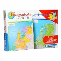 Puzzle geografic Netherland...