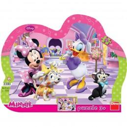 Puzzle cu rama - Minnie si...