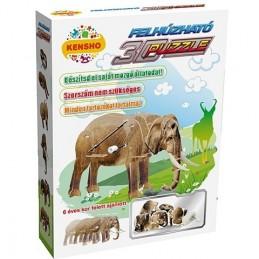 Puzzle Kensho 3D elefant