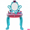 Masuta de infrumusetare 3 in 1 MalPlay cu oglinda, pian, melodii, lumini si accesorii