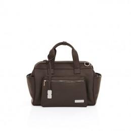 Geanta Style Dark Brown Abc...