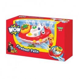 WOW Toys - BARCA POMPIER FELIX (JUC BAIE)
