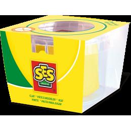 Conserva pasta de modelat 90 gr. ( Galben ) - SES (S00401)