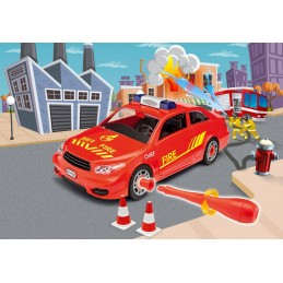 Masinuta Juinor Kit Revell - Masina de sef de pompieri