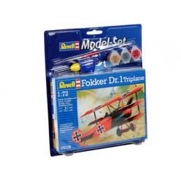 MODEL SET FOKKER DR.1 TRIPLANE Revell RV64116