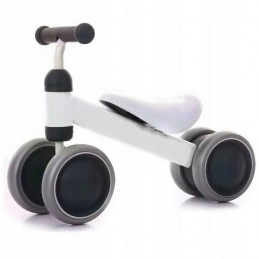 Bicicleta fara pedale Ecotoys JM-118 - Alb