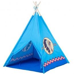 Cort de indieni 8172 Ecotoys - Albastru
