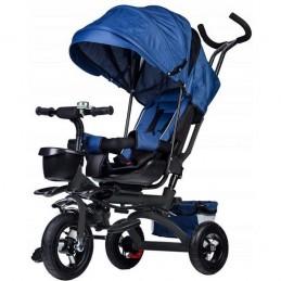 Tricicleta cu sezut rotativ Ecotoys JM-068-17 - Albastra