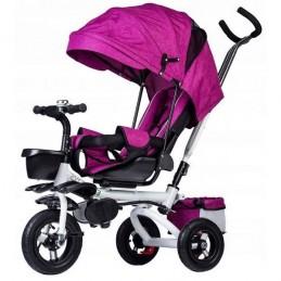 Tricicleta cu sezut rotativ Ecotoys JM-068-17 - Roz