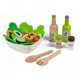 Set legume pentru salata cu bol Ecotoys