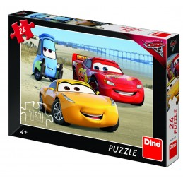 Puzzle - Cars 3 la mare (24 piese)