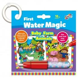 Prima mea carticica Water Magic - Animalutele de la ferma, Galt
