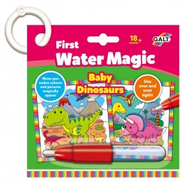 Prima mea carticica Water Magic - Micutii dinozauri, Galt