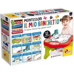 Masuta cu activitati Montessori, LISCIANI