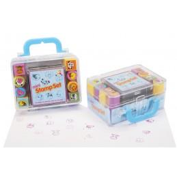 Set mini tusiera cu stampile, Keycraft