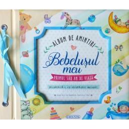 Album de amintiri: Bebelusul meu (bleu), GIRASOL