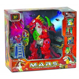 Robot M.A.R.S. - Dinozaur rosu, Cybotronix