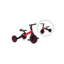 Tricicleta transformabila in bicicleta fara pedale, red-black Fillikid